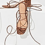 UO Alexa Leopard Strappy Sandals