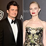 Orlando Bloom and Kate Bosworth at the Golden Globes