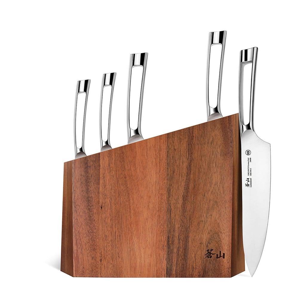 Cangshan N1 Series 6-Piece German Steel Forged Knife Block Set