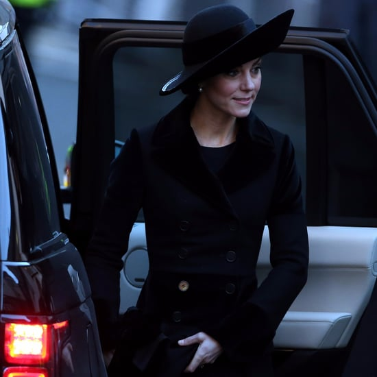 Kate Middleton Alexander McQueen Coat Memorial Service 2016