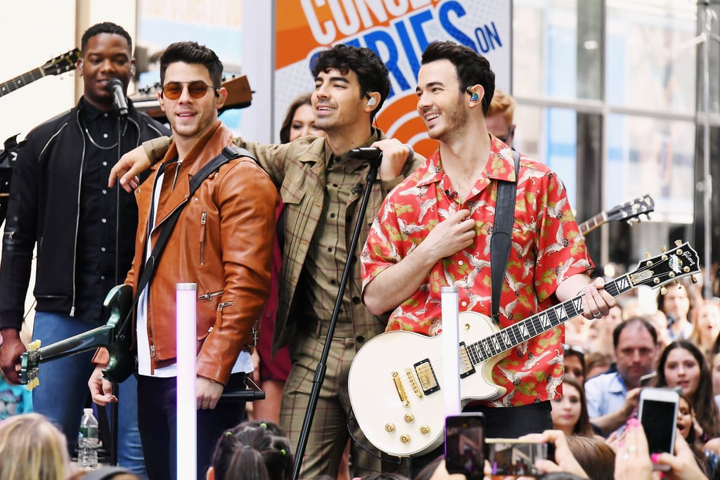 June: The Jonas Brothers Performed on the Today Show