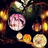 Halloween Paper LED Pumpkin Lanterns