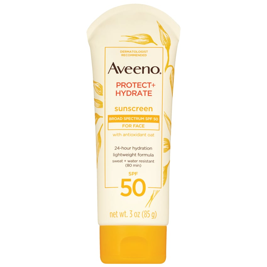Aveeno Protect + Hydrate Face Sunscreen Lotion with SPF 50