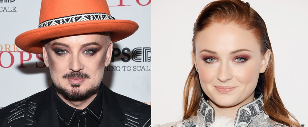 Sophie Turner Responds to Playing Boy George