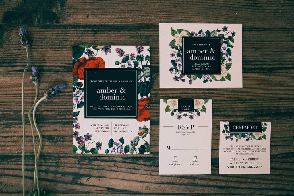 Where to Buy Wedding Invitations Online POPSUGAR Home