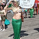 Modern Mermaid Parade