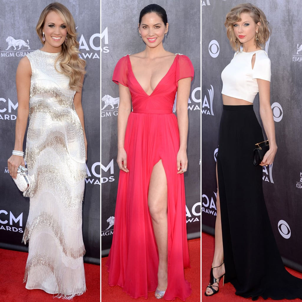 Sexy Red Carpet Style Taylor Swift Olivia Munn Shakira