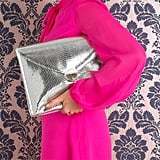 Violet May Silver Python Case ($195)