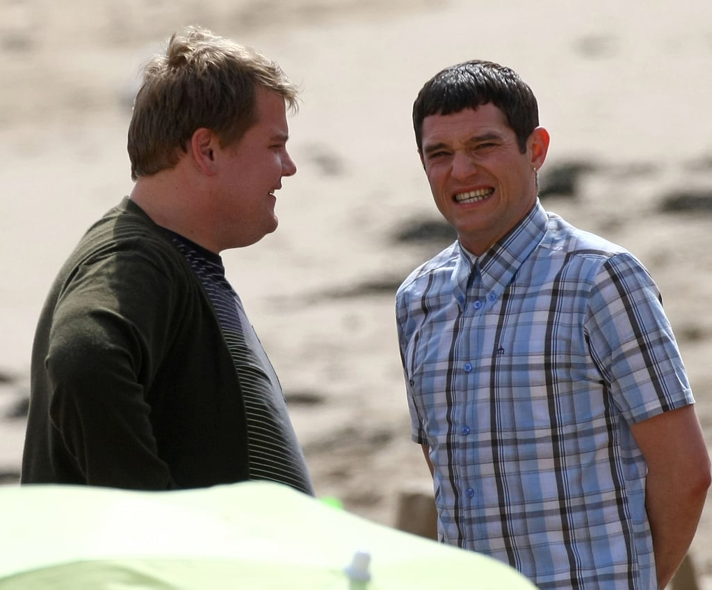 Gavin and Stacey Series 3 Filming On The Beach