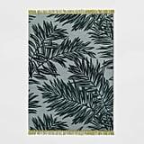 Stellaria Leaf Woven Rug