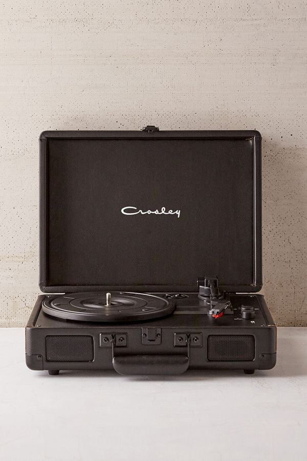 Crosley UO Exclusive Black Star Cruiser Bluetooth Record Player