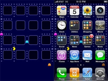 Other Times, Your Friends Send You A Link That Makes Your Day. Take For  Example This Pac Man Wallpaper Sent By A Pal ...