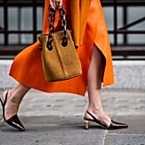 Subtly Quirky Sling-Back Heels