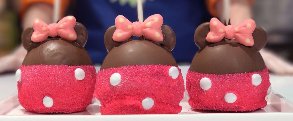 تعرّفوا على حلوى التفّاح بالكراميل اللّذيذة المستوحاة من شخصية ميني ماوس الشهيرة