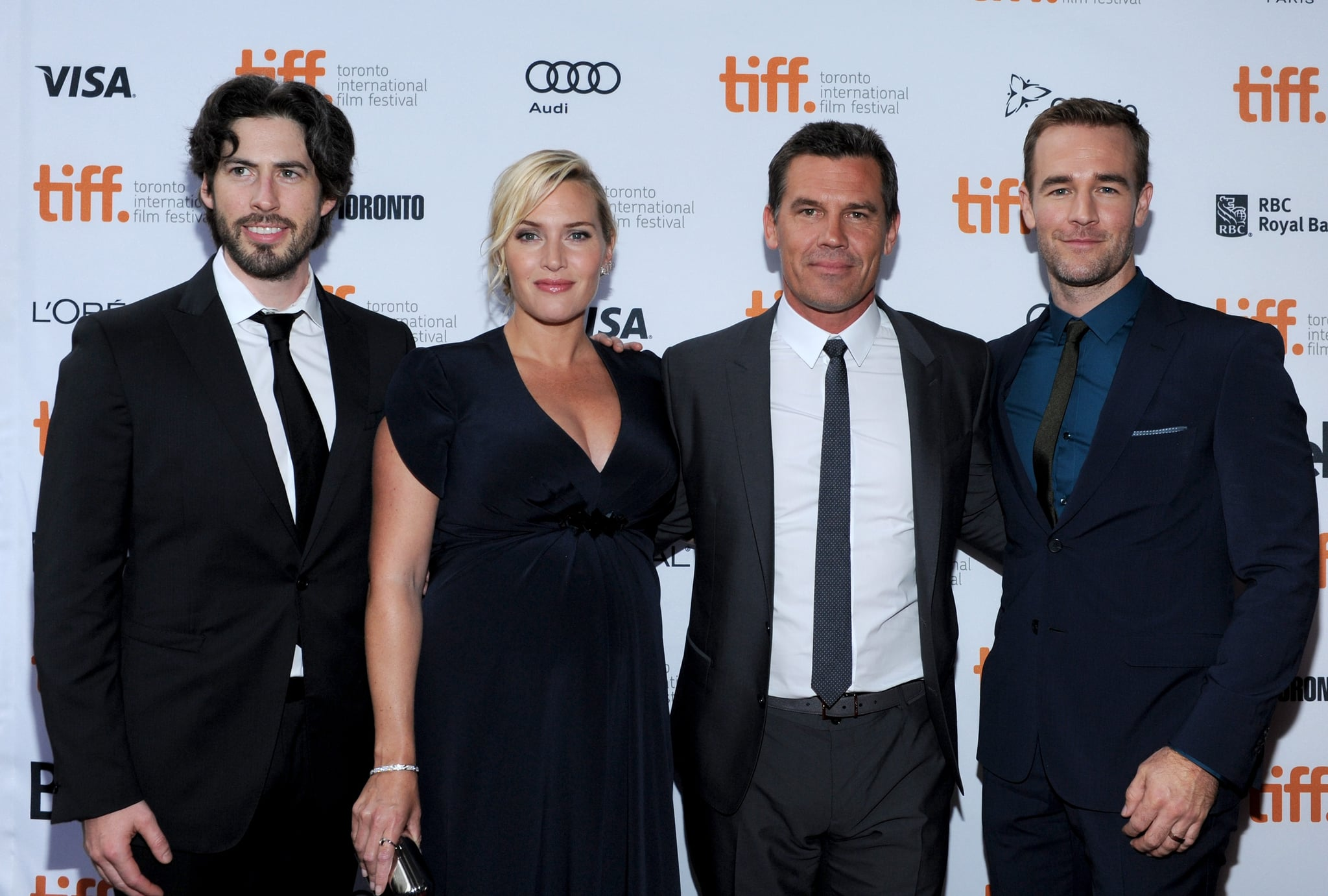 The stars and director of Labor Day linked up for the film's red carpet premiere.