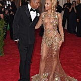 All eyes were on Beyoncé in her barely there Givenchy gown, but Jay Z was the perfect companion in a classic tux at the 2015 Met Gala.