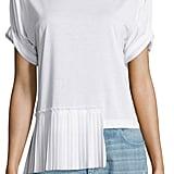MM6 Maison Margiela Short-Sleeve Side-Pleat Top ($345)
