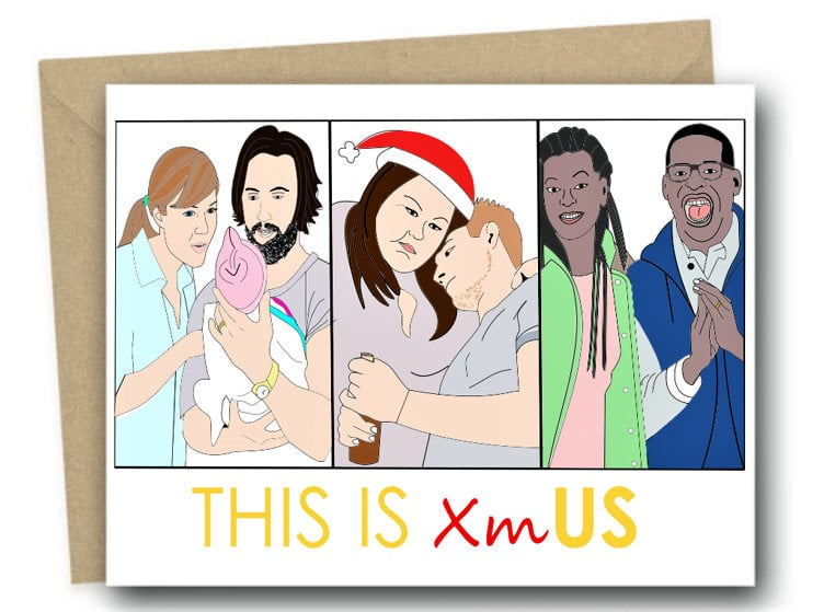 This Is Us Christmas Card
