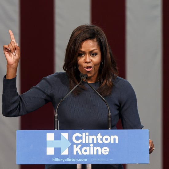 Michelle Obama's Comments on Donald Trump Tape About Women