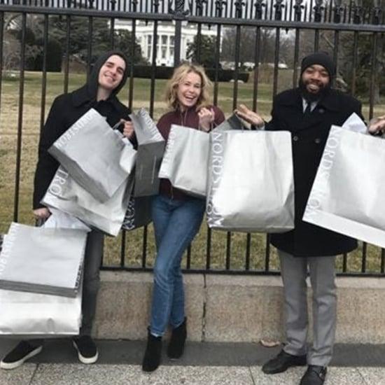 Chelsea Handler Trolls Trump With Nordstrom Bags