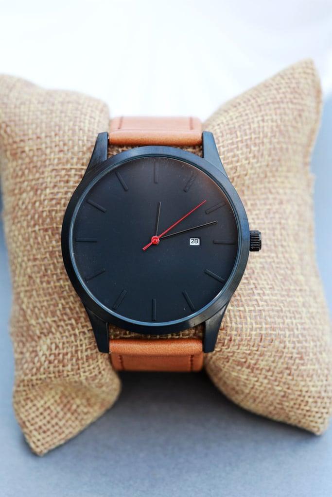Etsy Custom Engraved Personalized Men's Wrist Watch