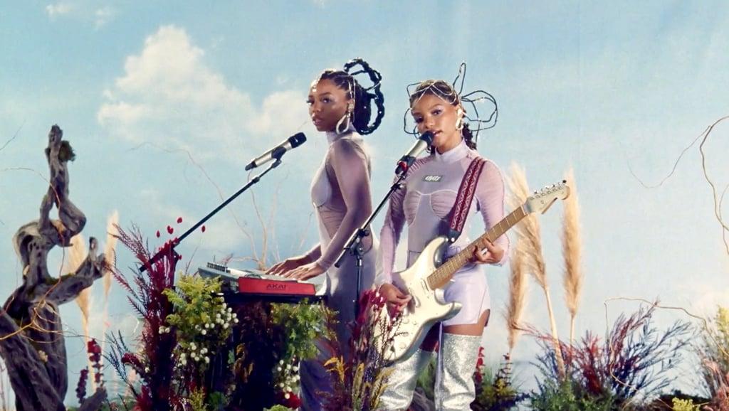 See Chloe x Halle's Purple Billboard Women in Music Outfits