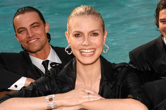 Do You Get Your Hair Wet When You Swim, Heidi Klum