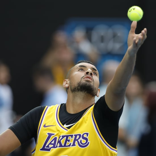Tennis Players Honour Kobe Bryant at the Australian Open