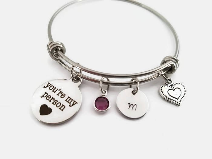 Friends jewelry to wear while they cry over Ross and Rachel.