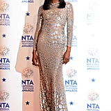 Naomi Campbell at the 2014 National Television Awards