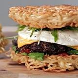 Homemade Ramen Burger