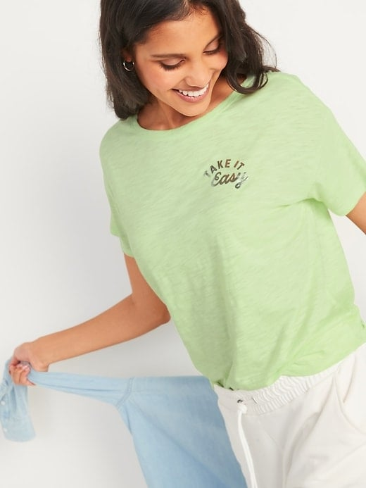 Old Navy Loose Graphic Easy Short-Sleeve Tee
