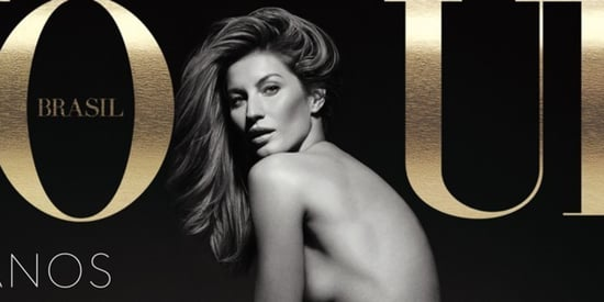 Gisele Bundchen Goes Nude For Vogue Brazil's 40th Anniversary