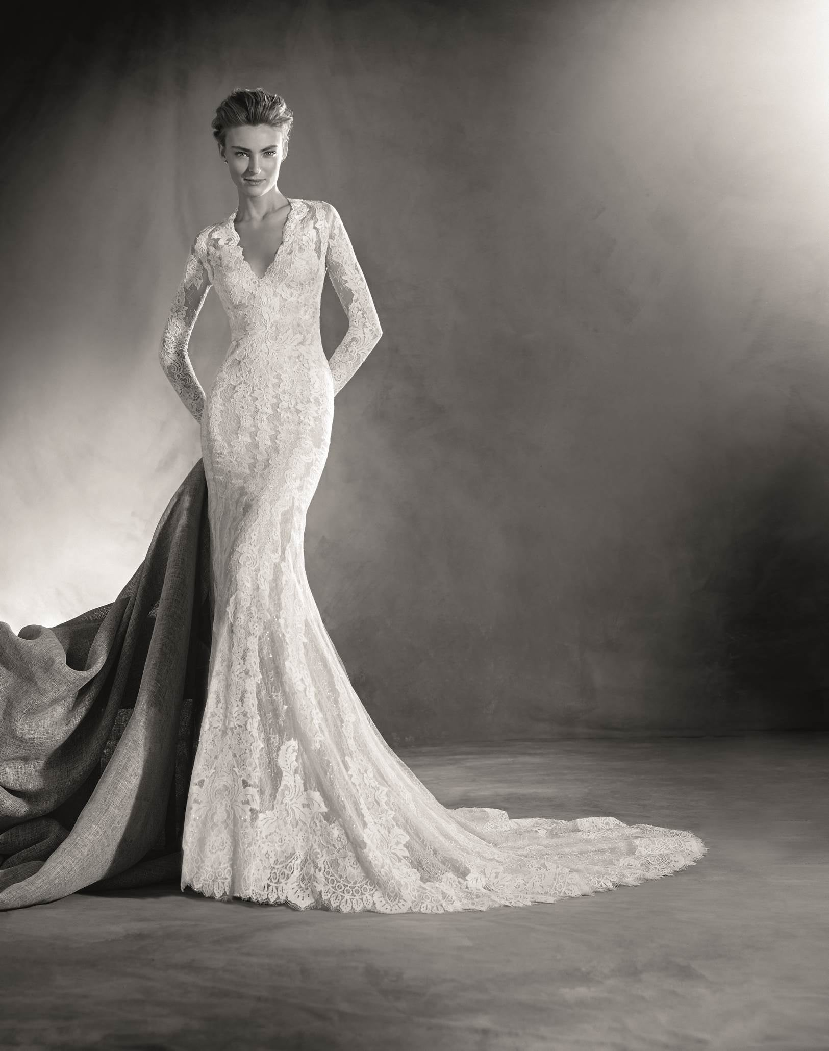 Pronovias Elva Mermaid Wedding Dress Price Upon Request If Kate Middleton S Your Bridal Icon These Wedding Dresses Are For You Popsugar Fashion Photo 21,Outdoor Wedding Guest Dresses For Summer