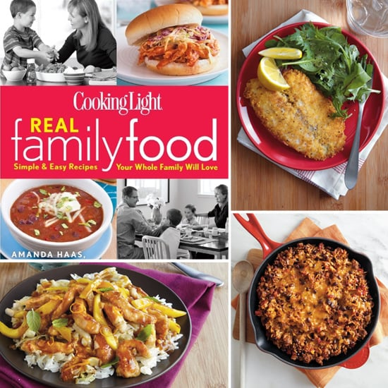 Dinnertime Crunch: Amanda Haas and Cooking Light's Fast and Family-Friendly Weeknight Dinners