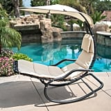 BELLEZE Hanging Rocking Sunshade Canopy Chair