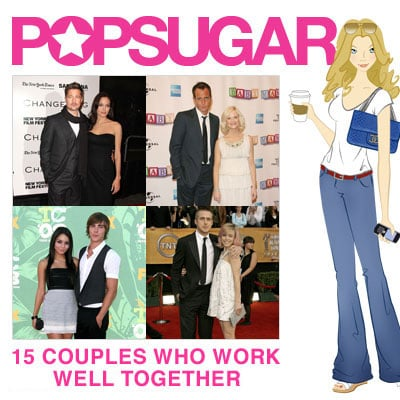 PopSugar's 15 Couples Who Work Well Together