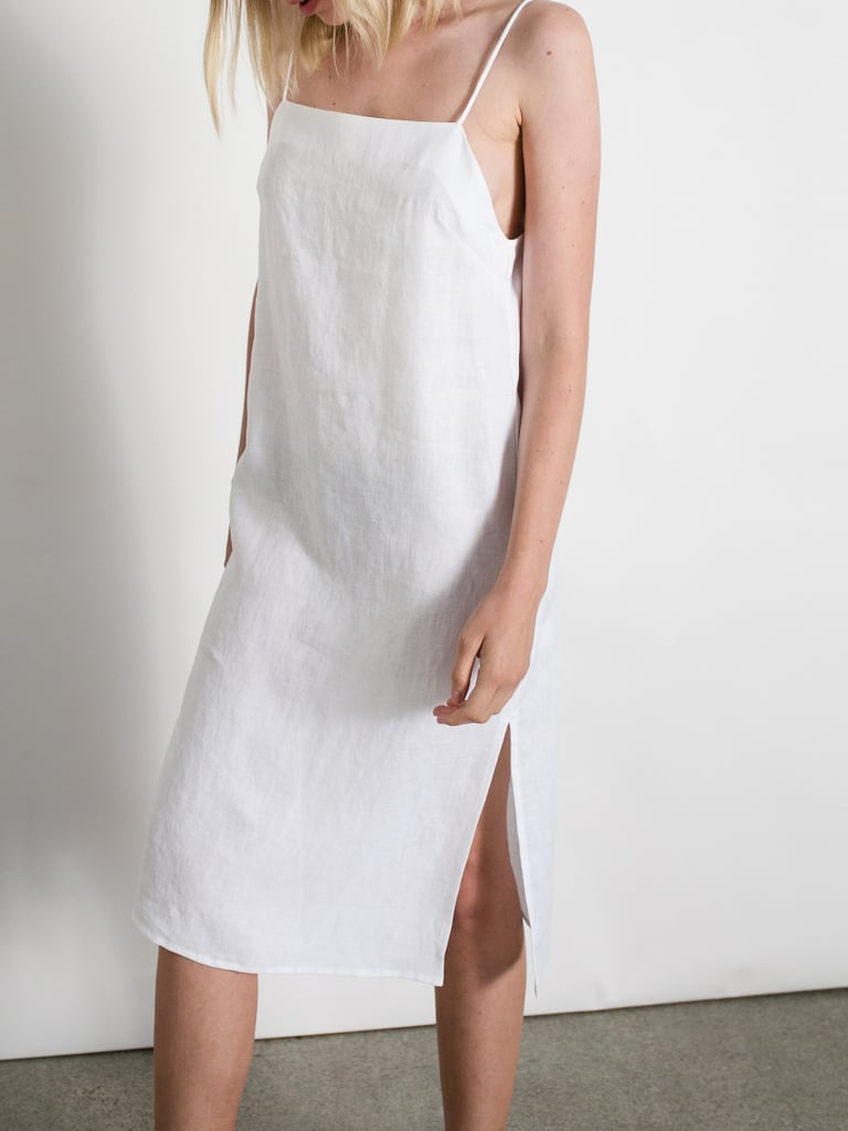 square neck dress - White Matin o2N63Xig