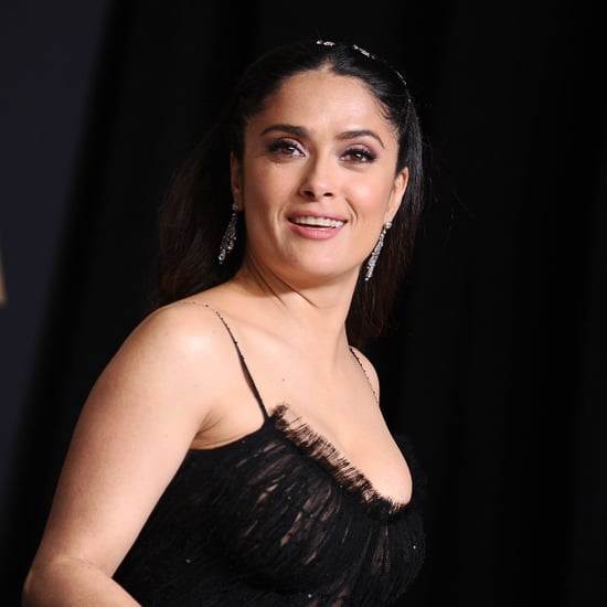 Salma Hayek Singing With Mariachi Band March 2017