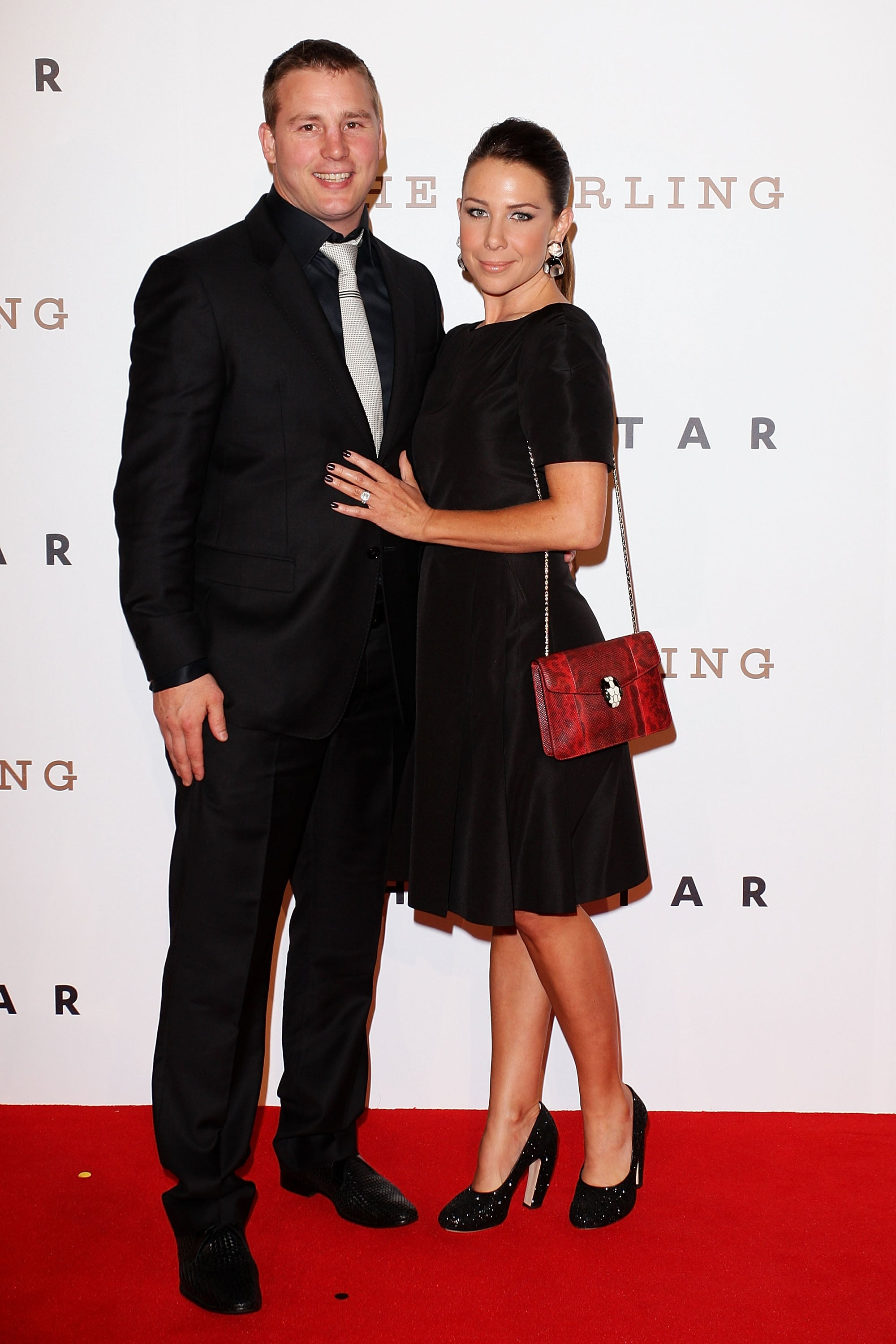 Stuart Webb and Kate Ritchie