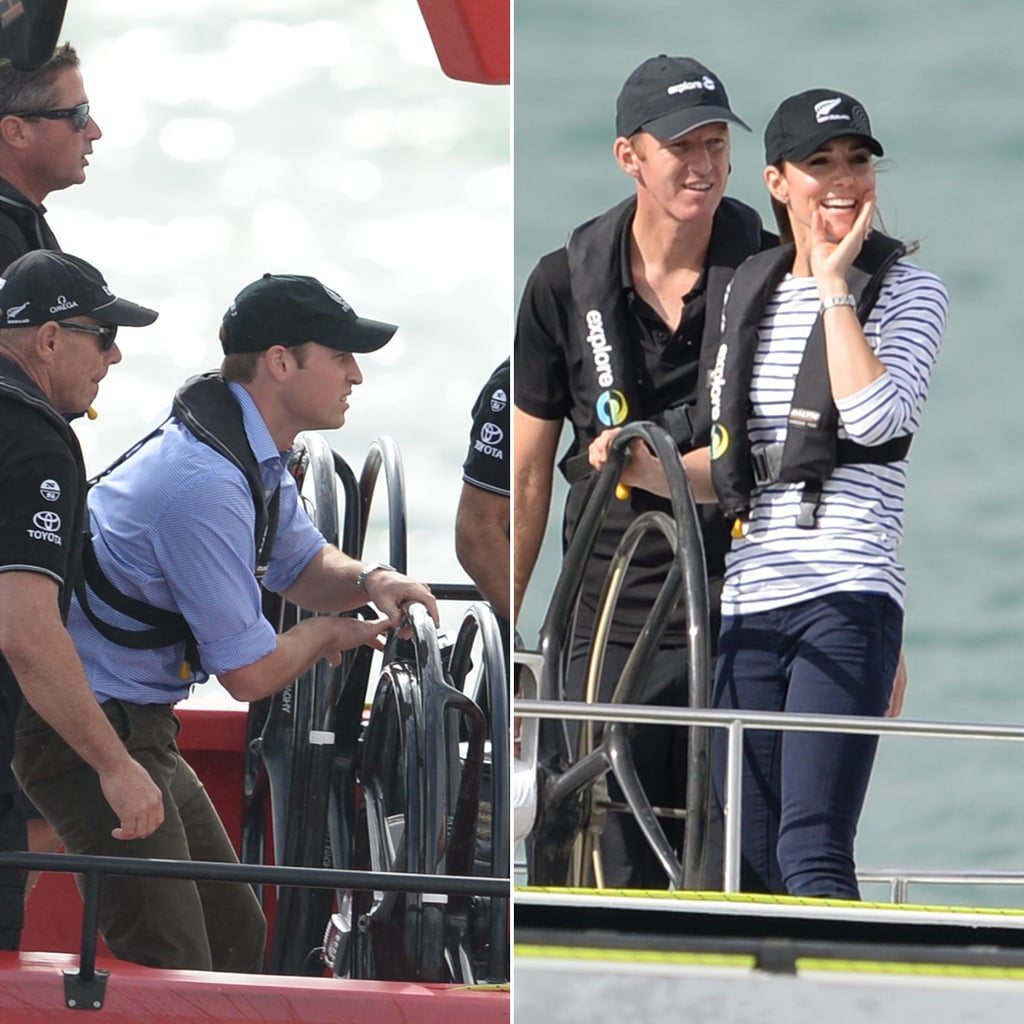 Will and Kate Get Casual — and Competitive! — For Their Auckland Visit