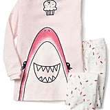 Cupcake Shark Sleep Set