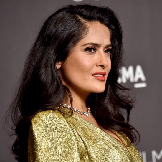 Salma Hayek Gray Hair