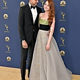 September 2018: Travis Is Madelaine's Date to the Emmys
