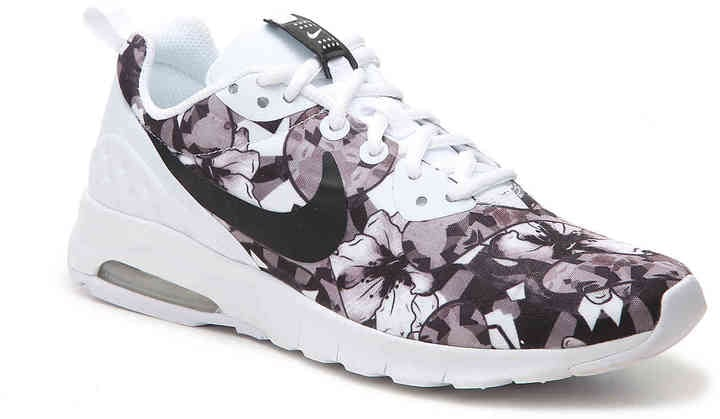 For a muted style, try these Nike Women's Air Max Motion Sneakers ($90), which feature a gray and black floral print.