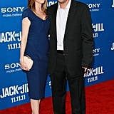 Adam Sandler and Jackie Sandler were arm-in-arm on the red carpet.