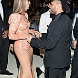 Pictured: Beyonce Knowles and The Weeknd