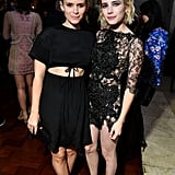 Kate Mara and Emma Roberts