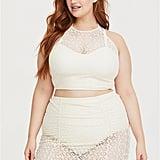 Torrid Flirt Ivory Crochet Bikini