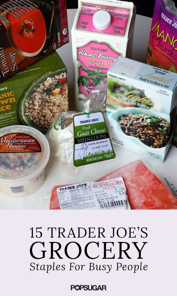15 Trader Joe's Grocery Staples For Busy People
